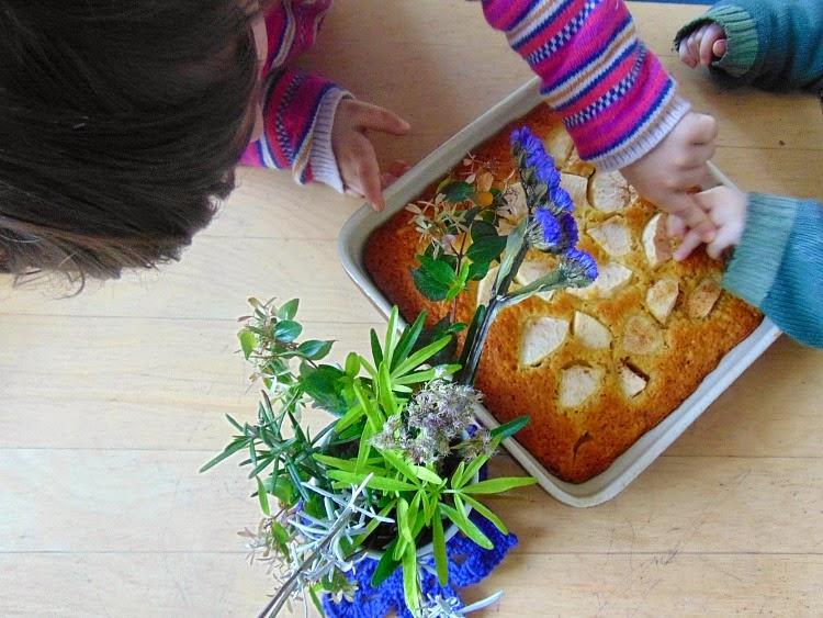 Gâteau au yaourt et pommes recette facile