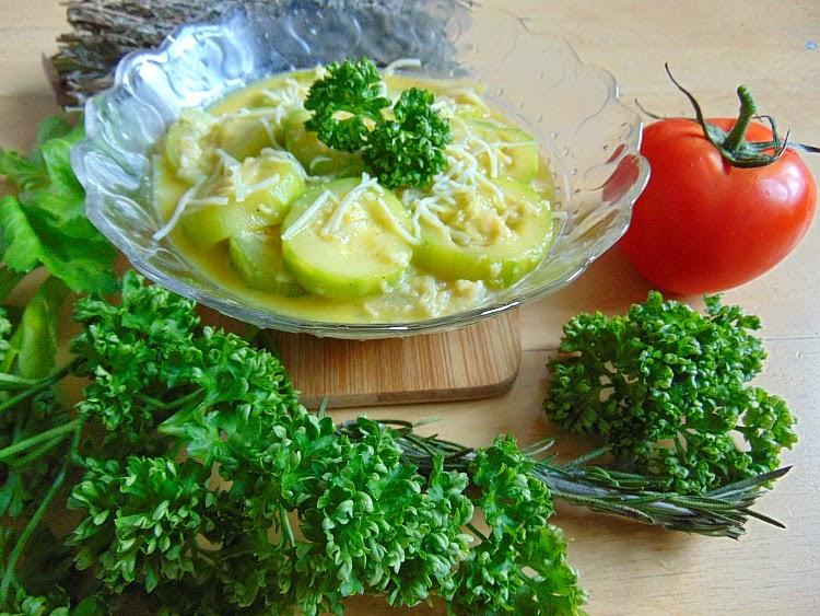 cuisine de courgette