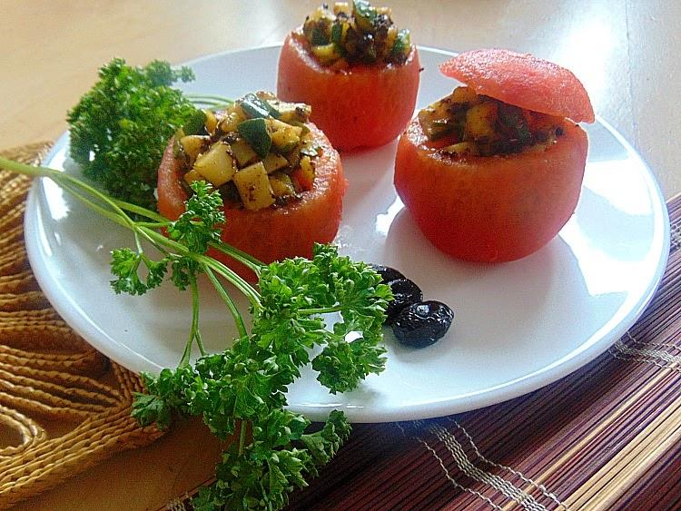 recette de tomates farcies