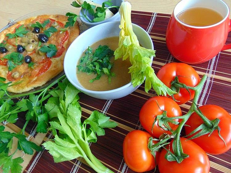 Pizza tomate mozzarella