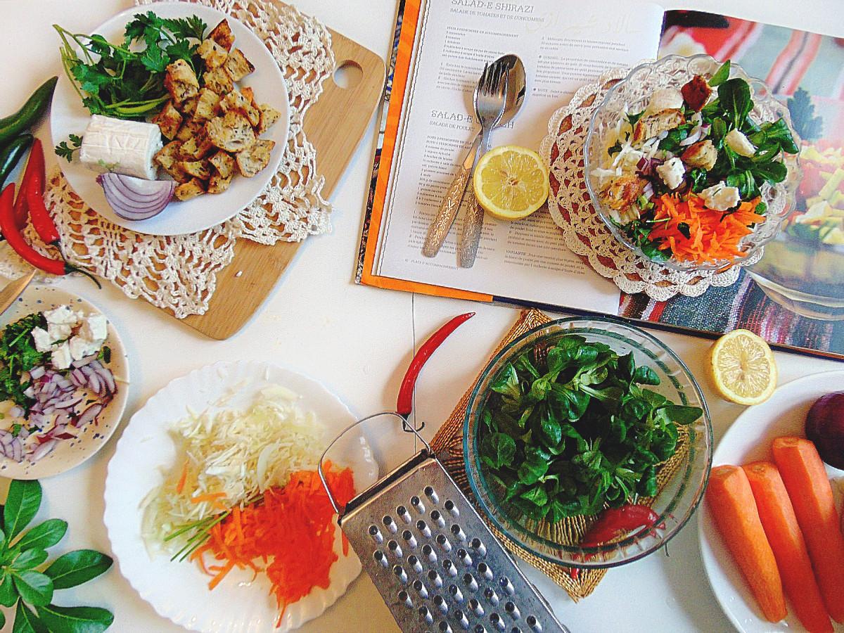Salade- mâche