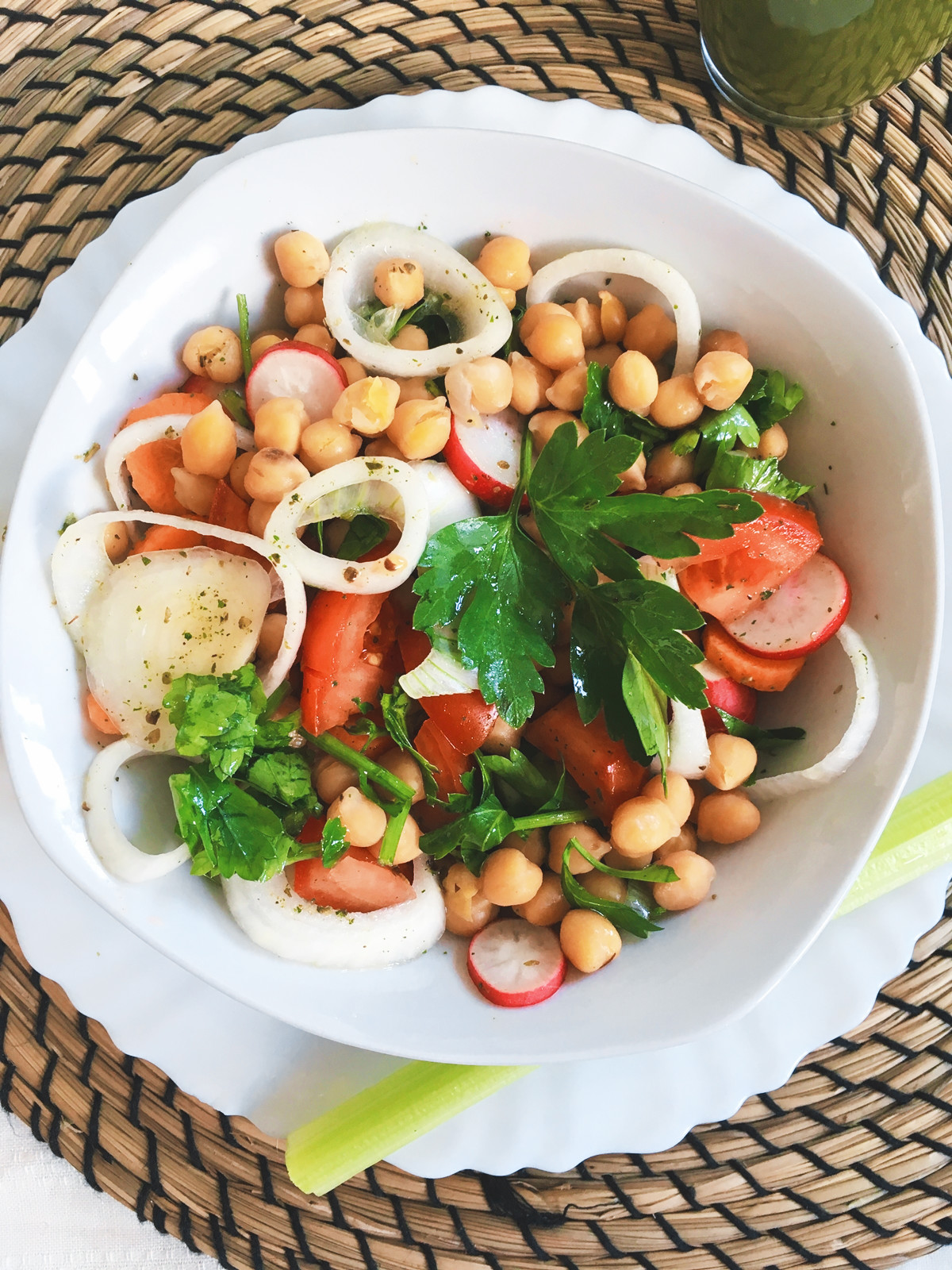 How to Make best Mediterranean Chickpea Salad