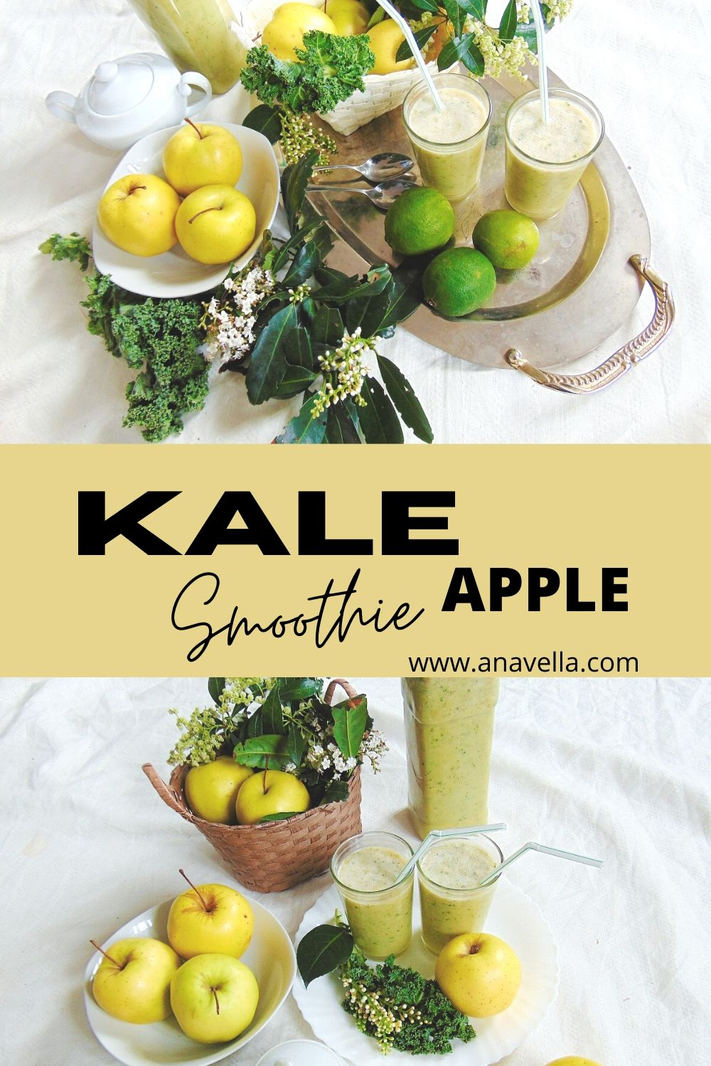 kale apple smoothie 3