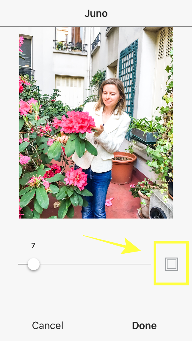 how to get white borders on your Insta pics22