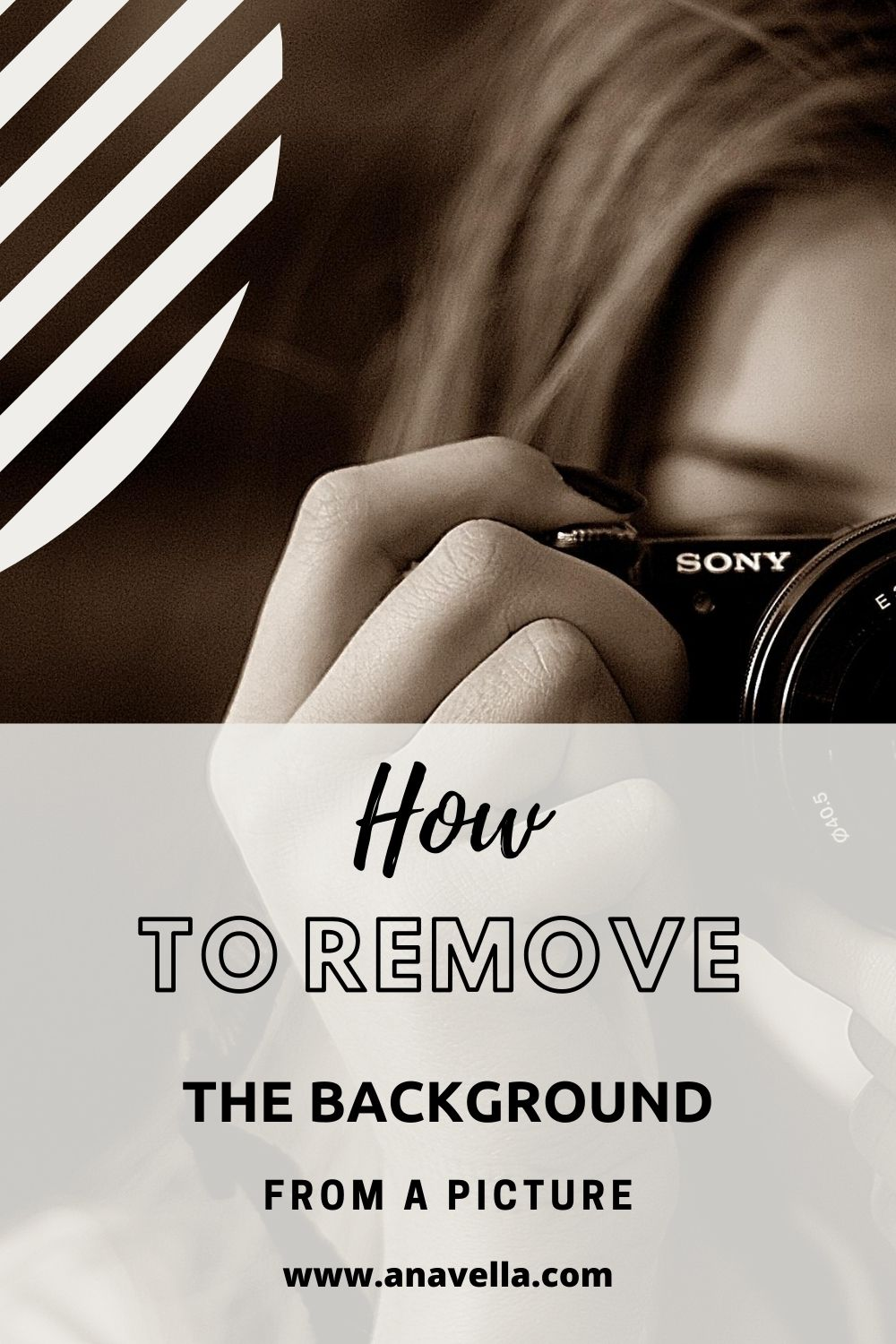 How to remove the background from a picture