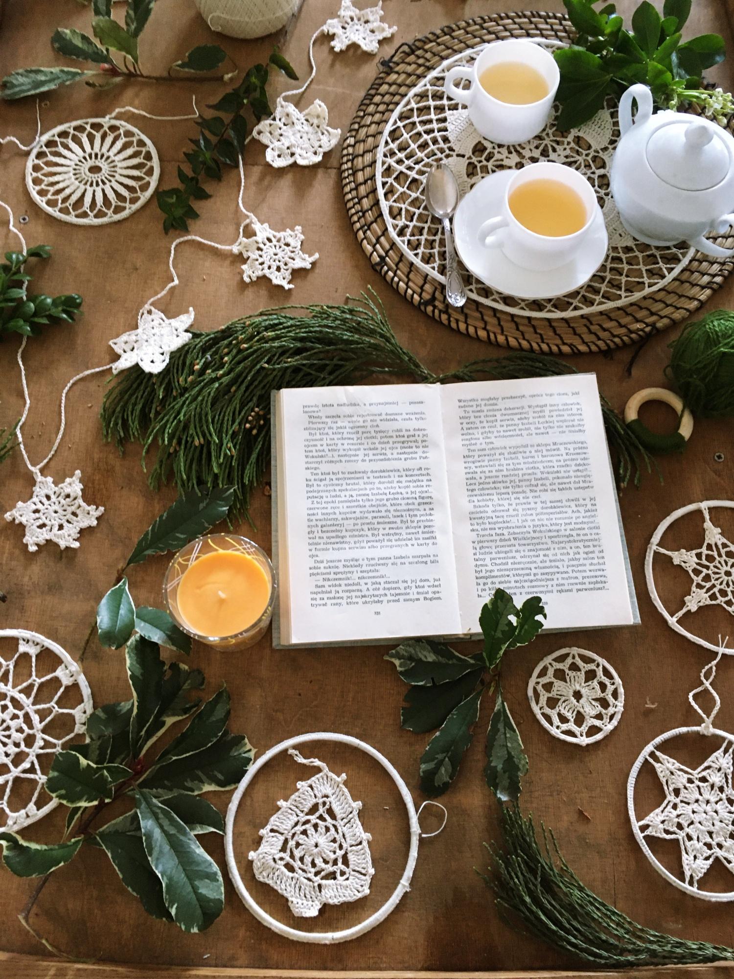 Sapin au crochet à accrocher au sapin de Noël