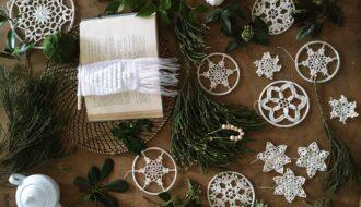 Une étoile au crochet pour le sapin de Noël